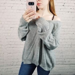 Anthropologie Moth| Oversized Knit Sweater